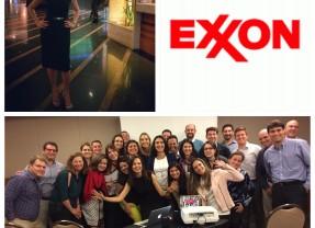 Palestra para Exxon em São Paulo.