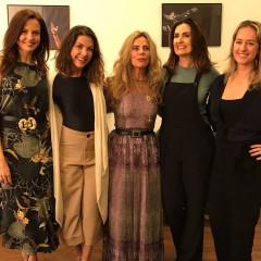 """Evento sobre a """"Felicidade"""", com: Lígia Guerra, Thalita Rebouças, Bruna Lombardi, Fátima Bernardes e Mariliz Pereira Jorge."""