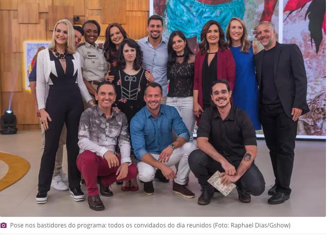 Lígia Guerra Encontro Rede Globo