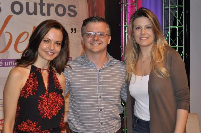 Lígia Guerra, Daniel Barros e Daiana Garbin