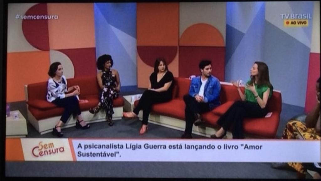Psicanalista Lígia Guerra TV Brasil